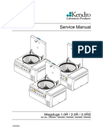 Heraeus Megafuge 1.0, 2.0 - Service manual
