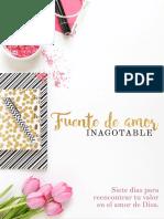 Fuente de Amor Inagotable- Primer eBook de Entaconadas