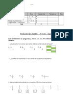Evaluacion Matematica 4º Agosto Diferen.