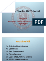 Arduino Starter Kit Tutorial v02