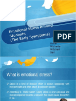 Emotional Stress Among Students