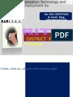 District Partner Praposal RITES
