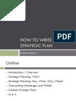 RAMAN Strategic Planning