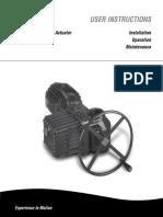 Limitorque L120-85 Actuator IOM
