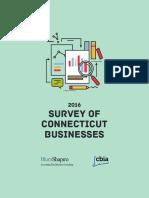 2016 Survey of Connecticut Businesses