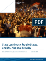 State Legitimacy, Fragile States, and U.S. National Security
