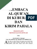 MEMBACA Al Quran Di Kuburan Dan Kirim Pahala