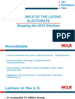 Dynamics of the Latino Electorate