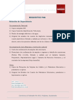 Requisitos Fha - Asd