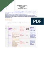 OMS OPTIONAL Staff Meeting Agenda 2010-02-15