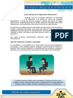 La Comunicacion Asertiva en La Negociacion Internacional