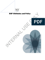 BGP Attributes and Policy
