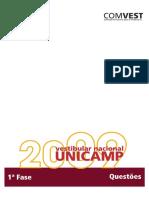 Fase1 Comentada Unicamp 2009