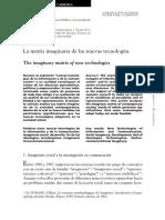 4. Cabrera La Matriz Imaginaria de Las Nuevas Tecnologías