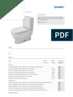 Duravit - Starck 3 Toilets Two-piece toilet #212501 by Duravit.pdf