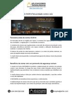 Norma Angolana 33-2014 Para proteção contra o raio.pdf