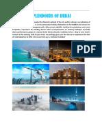 Splendours of Dubai Ex Delhi-updated 13th June (July-Oct)