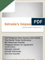Estrada's Impeachment