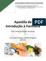 Apostila de Introdução à Farmácia – 2015-01 – Unipac Araguari