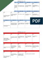 Calendario Atividade Fisica