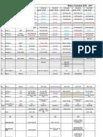 hais master schedule 2016-2107