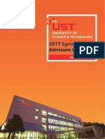 UST Admission Guidelines for Spring Semester 2017.pdf