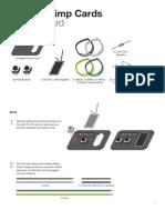 Modkit Crimp Card - Speaker Instructions