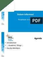 Penjelasan Jurusan Program Sistem Informasi SMA-S1