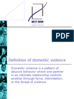 Next Door Solutions to Domestic Violence