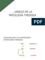 Manejo de Patologia Tiroidea