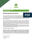 Il rapporto Oxfam sui profughi minorenni