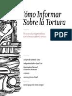 Como Informar Sobre La Tortura - una guía para periodistas que informan sobre la tortura