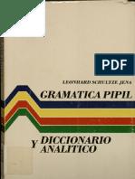 Leonhard Schultze Jena - Gramatica Pipil