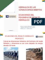 14 1Ecuaciones Del Resalto Hidráulico