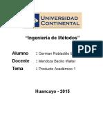 CL1-GermanRobladillo-IngenieriaMetodos