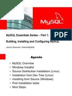Mysql Essentials Part 1