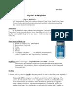8th gr math syllabus 16-17