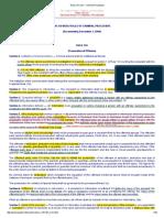 Rules of Court - Criminal Proceedure