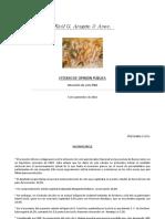 Encuesta Raúl Aragón septiembre