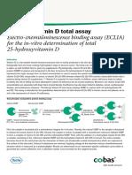 Elecsys Vitamin D Total Factsheet