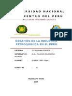 Desafios de La Petroquimica en El Peru
