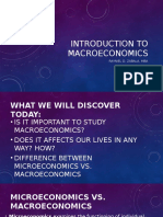 Introduction to MACROECONOMICS 2017 Outline RDZ