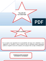 Power Point Taller de Autoestima