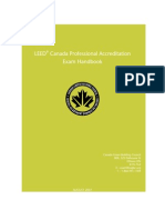 LEED® Canada Professional Accreditation Exam Handbook