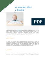 Disfasia y Dislexia