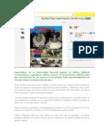 Especialistas de La Universidad Nacional Agraria La Molina