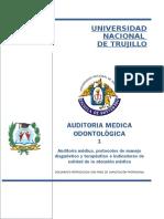Auditoria Medica y Odontologica - 1