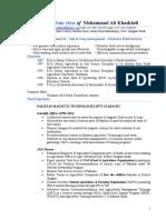 Mohammad Ali CV 2016.pdf