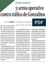 08-09-16 Monterrey arma operativo contra tráfico de Gonzalitos