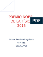 Premio Nobel de La Física 2015